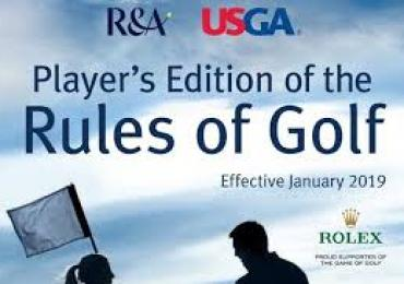 2019 Rules Of Golf Changes